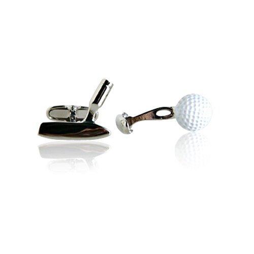 Golf Ball and Putter Cufflinks