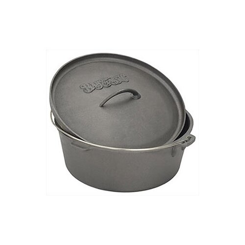 2-qt. Cast Iron Round Dutch Oven