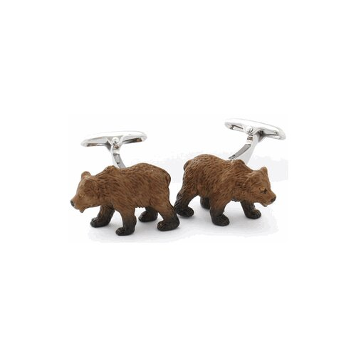 Safari Cufflinks Animal Bear Cufflinks