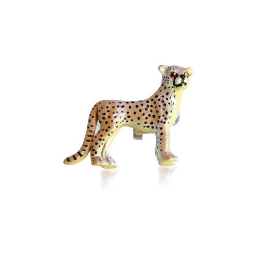 Safari Cufflinks Painted Cheetah Cufflinks