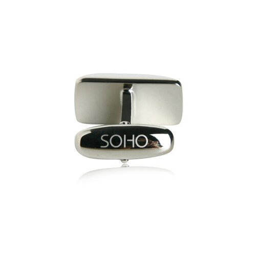 Soho Austrian Crystal Cufflinks in Purple