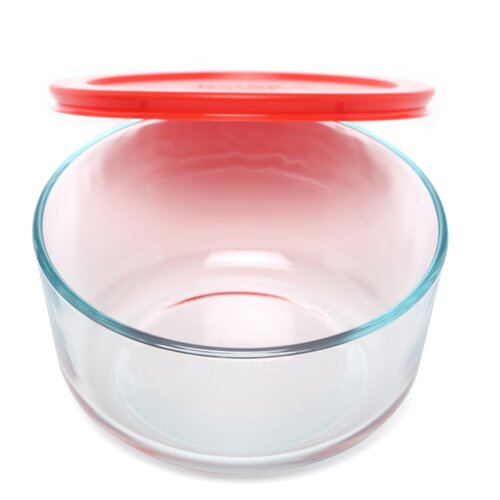 Pyrex Storage Plus 4 Cup Round Storage Dish with Lid