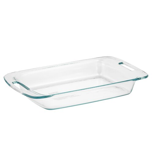 Pyrex 3 Qt. Grip-Rite Oblong Baking Dish
