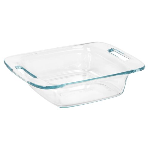 "Pyrex Easy Grab 8"" Square Baking Dish"