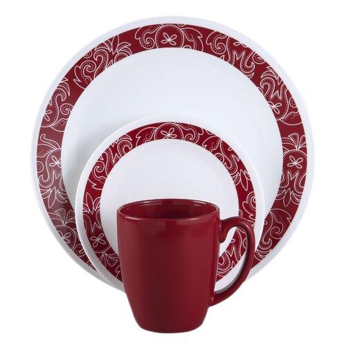 Livingware™ Bandhani 16 Piece Dinnerware Set