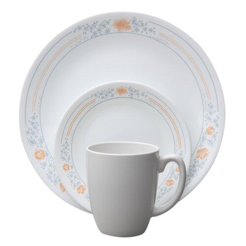Livingware Apricot Grove 16 Piece Dinnerware Set