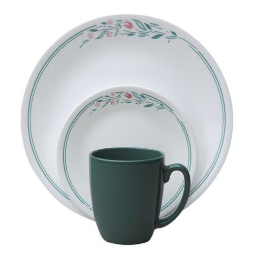 Livingware Rosemarie 16 Piece Dinnerware Set