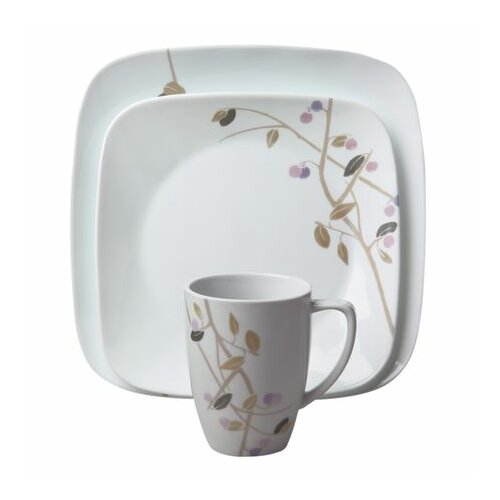 square midnight garden 16 piece dinnerware set wayfair