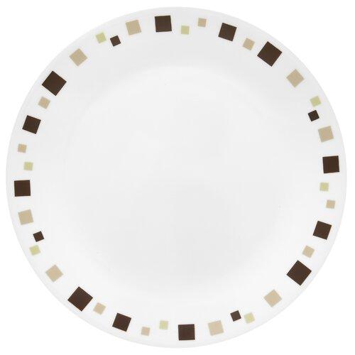 """Corelle Livingware 10.25""""Geometric Dinner Plate"""