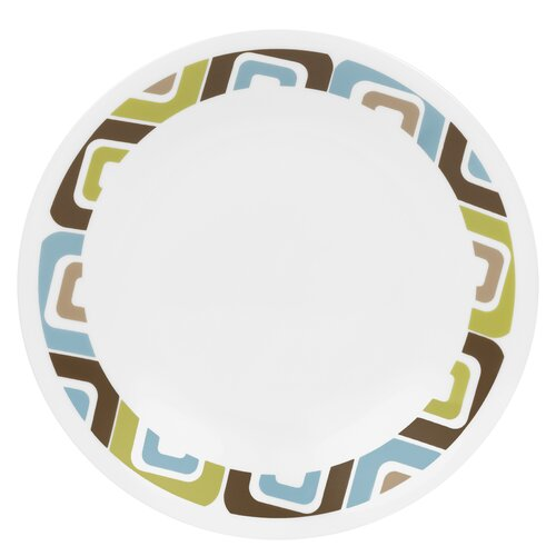 "Corelle Livingware 6.75"" Square Bread and Butter Plate"
