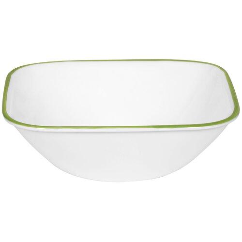 Corelle Square 22 oz. Leaf  Soup / Cereal Bowl