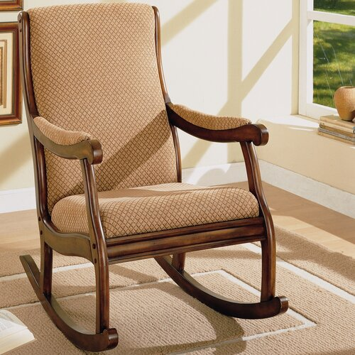 Rocking Fabric Arm Chair