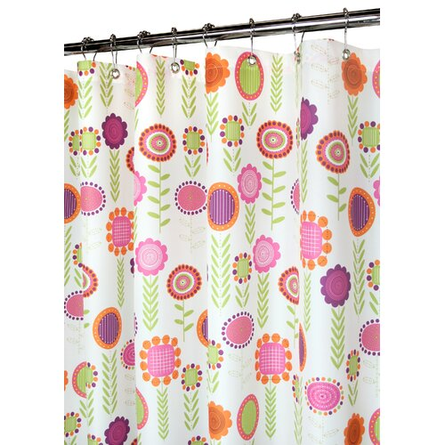 Watershed Prints Polyester Spring Meadow Shower Curtain