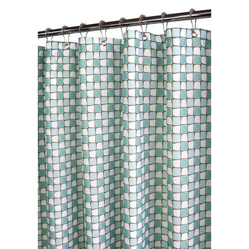 Watershed Prints Polyester Urban Tiles Shower Curtain