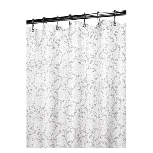 Watershed Prints Polyester Victorian Lace Shower Curtain