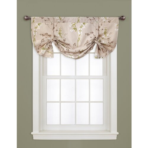 Lush decor roslyn 40 quot curtain valance amp reviews wayfair