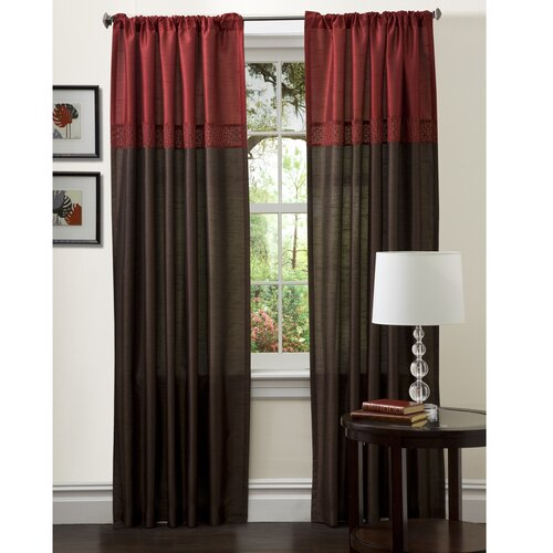 Lush Decor Geometrica Rod Pocket Curtain Panels Reviews