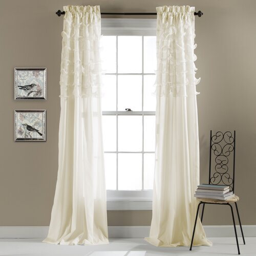 Lush Decor Avery Curtain Panels Reviews Wayfair