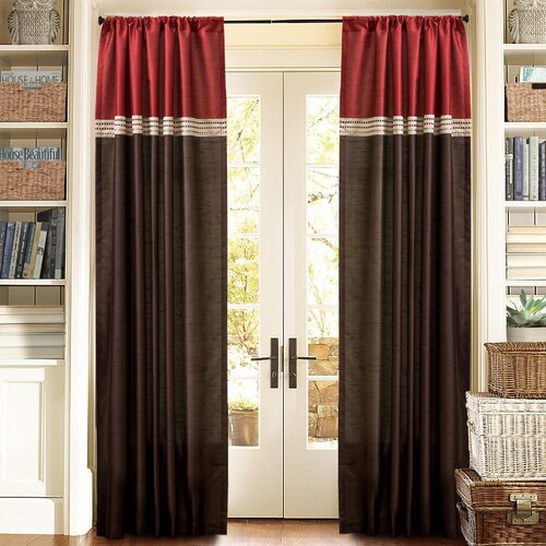 Special Edition by Lush Decor 102 165 Terra Curtain Panels (Set of ...