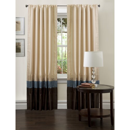 Special Edition by Lush Decor Mia Rod Pocket Curtain Panel