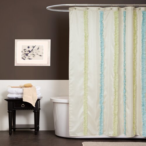 Aria Polyester Shower Curtain