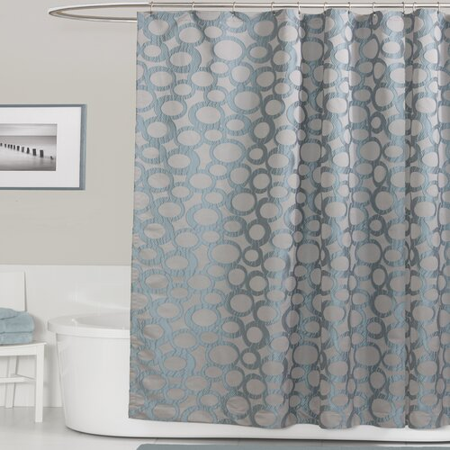 Orbit Polyester Shower Curtain