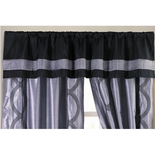 "Special Edition by Lush Decor Talon Rod Pocket Tailored 84"" Curtain Valance"