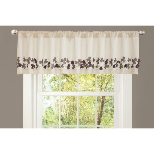 """Special Edition by Lush Decor Flower Drop 84"""" Curtain Valance"""