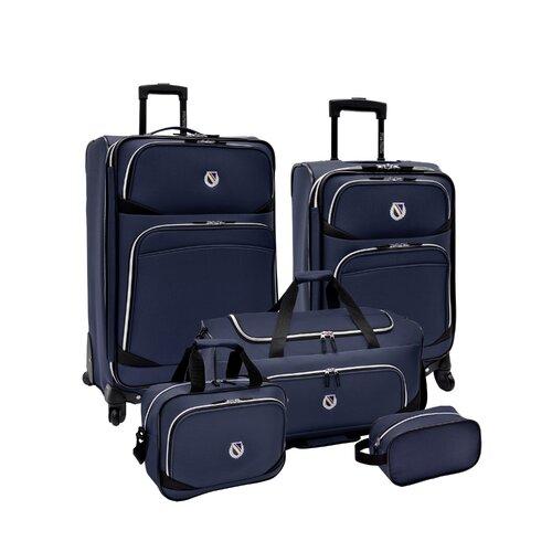 San Vincente 5 Piece Luggage Set