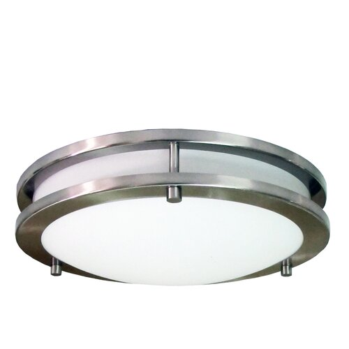 HomeSelects International 1 Light Flush Mount