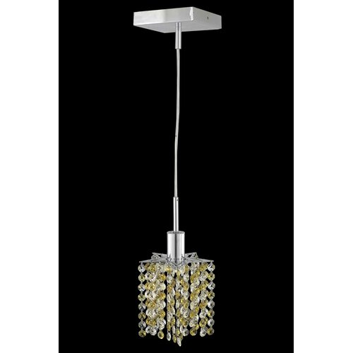 Elegant Lighting Mini 1 Light Pendant