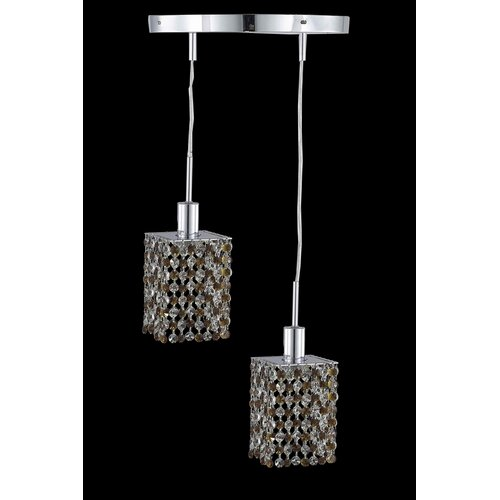 Elegant Lighting Mini 2 Light Pendant