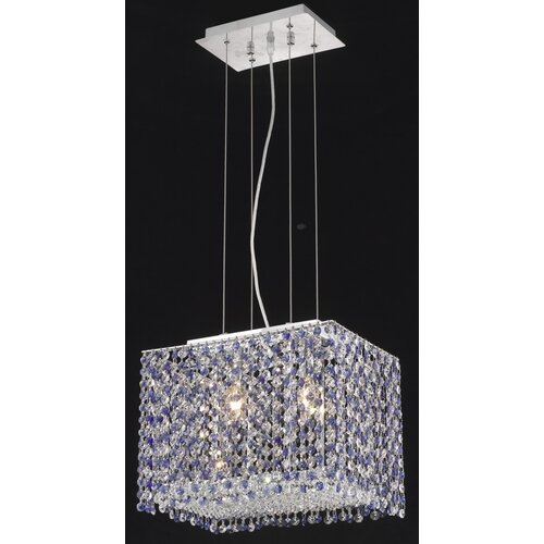 Elegant Lighting Moda 2 Light Pendant