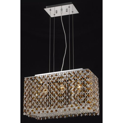 Elegant Lighting Moda 3 Light Pendant