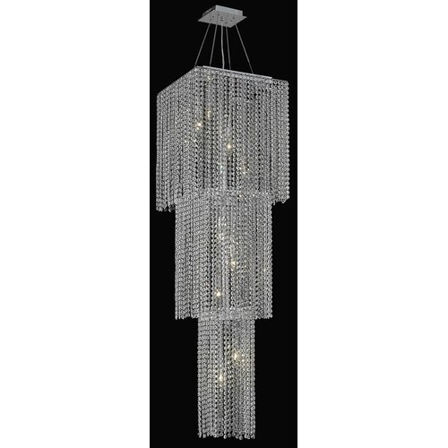Elegant Lighting Moda 9 Light Pendant