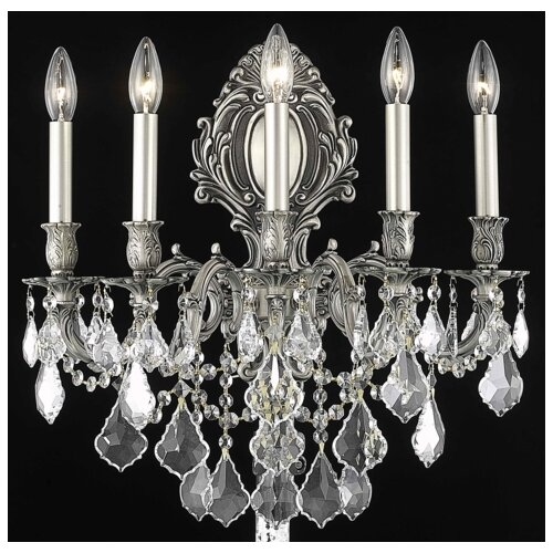 Elegant Lighting Monarch 5 Light Wall Sconce