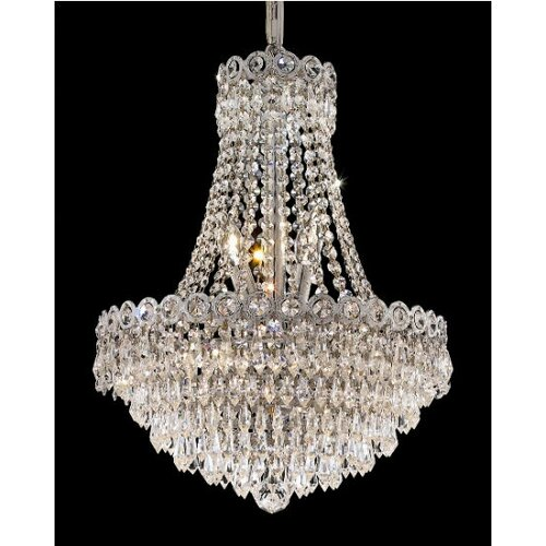 Elegant Lighting Century 8 Light Chandelier