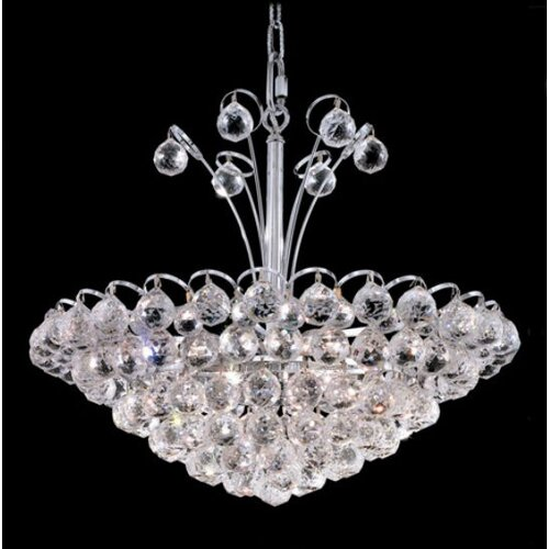Elegant Lighting Godiva 8 Light Chandelier