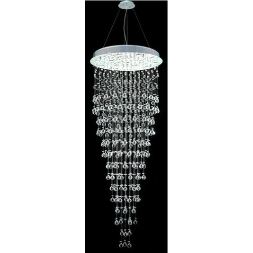 "Elegant Lighting Galaxy 16 Light 30"" Large Semi Flush Mount"