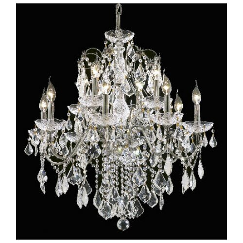 Elegant Lighting St. Francis 12 Light Chandelier
