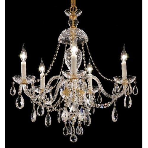 Alexandria 5 Light Chandelier