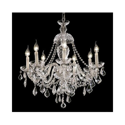 Elegant Lighting Alexandria 7 Light Chandelier