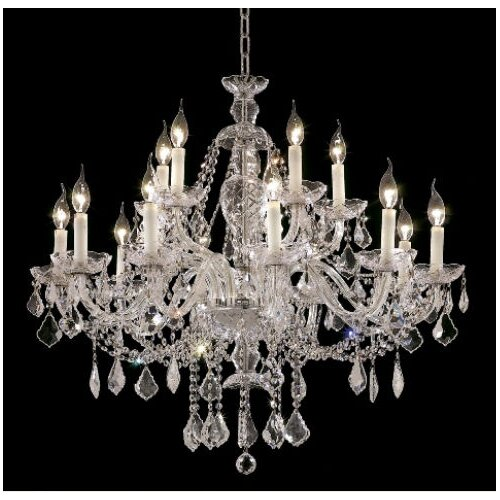 Elegant Lighting Alexandria 12 Light Chandelier