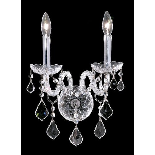 Elegant Lighting Alexandria 2 Light Wall Sconce