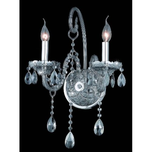 Elegant Lighting Verona 2 Lights Wall Sconce