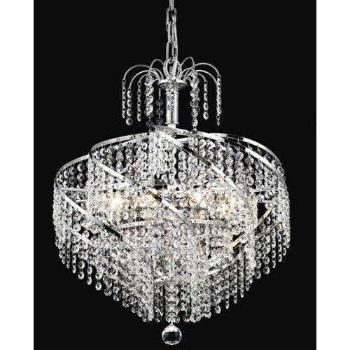 Elegant Lighting Spiral 8 Light Chandelier