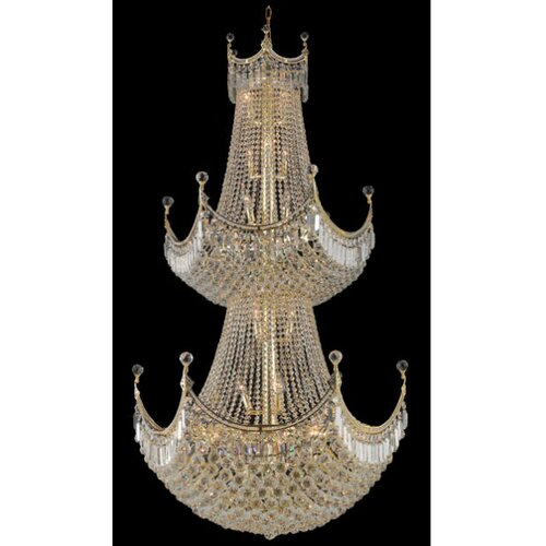 Elegant Lighting Corona 36 Light  Chandelier