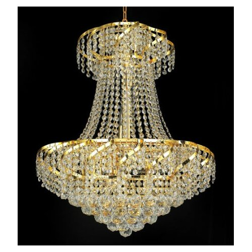 Elegant Lighting Belenus 11 Light Chandelier