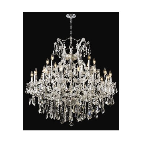 Elegant Lighting Maria Theresa 24 Light Chandelier