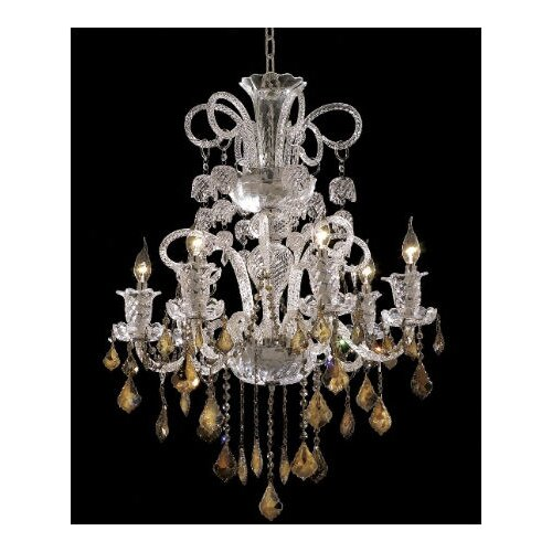 Elizabeth 6 Light Chandelier